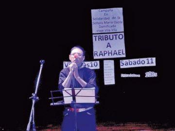 Juntan fondos con tributo a Raphael