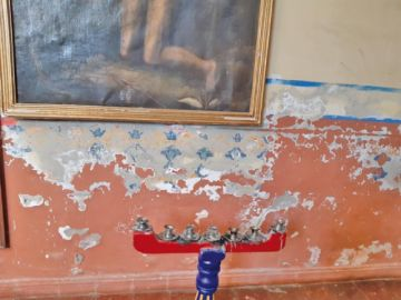 Verificarán el deterioro que sufre el templo de San Pedro (incluye video)