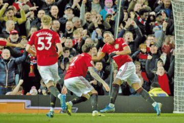 El United vuelve a la senda del triunfo gracias a Rashford, Martial y Greenwood