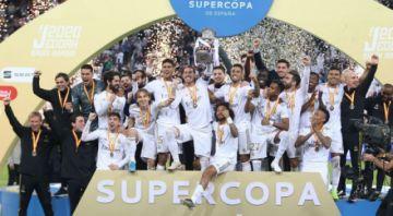 Real Madrid se corona campeón de la Supercopa