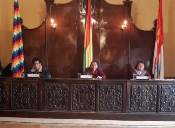 Elección de directiva del Concejo Municipal está en cuarto intermedio