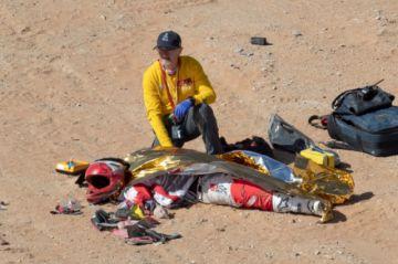 El Dakar se viste de luto tras la muerte del portugués Gonçalves durante la séptima etapa