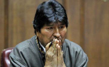 En Argentina, cuestionan  el refugio de Evo por sus dichos sobre milicias