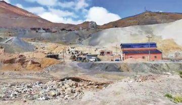 Denuncian toma de mina por cooperativistas mineros