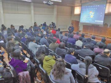 Alistan socialización de la RM 001/2020 con los directores distritales
