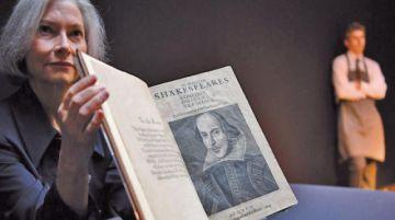 Subastan obra de Shakespeare en $us 4 millones
