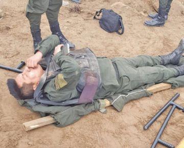 Avasalladores atacan a los policías en la zona Canterías