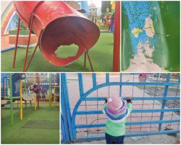 Piden abrir los parques infantiles