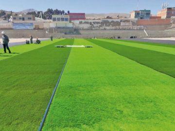 """Postergan la entrega de las obras del estadio """"Potosí"""""""