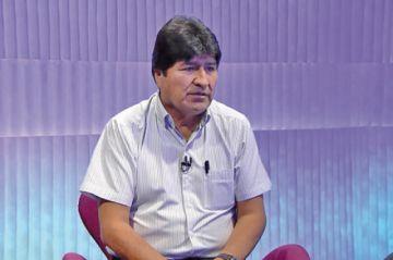 Expresidente Evo incomoda y provoca debate en Argentina