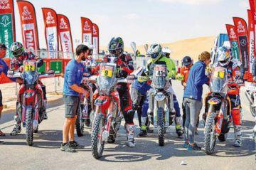 Barreda gana en la categoría motos