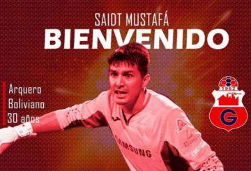 El arquero cruceño Saidt Mustafá atajará para Guabirá en el campeonato