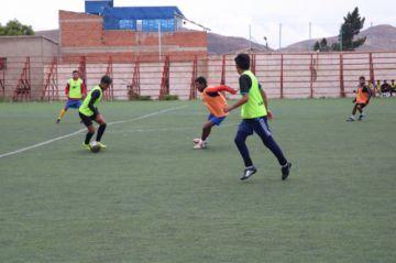 Selección potosina y el equipo juvenil de Real disputaron un partido de prueba