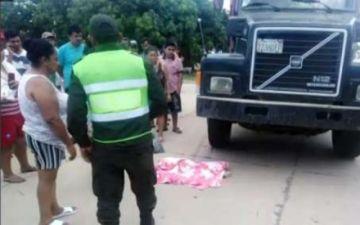 Un menor muere atropellado por un camión en el Plan Tres Mil