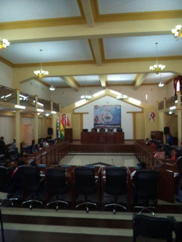 Asamblea atiende pocos informes en inicio de año