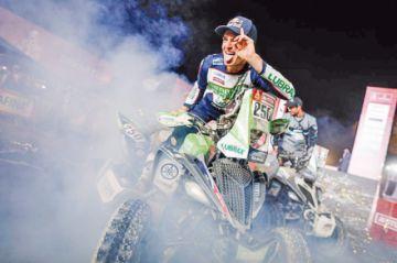Ignacio Casale sube al podio en quads