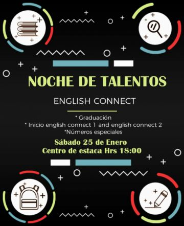 Preparan noche de talentos denominada English Connect