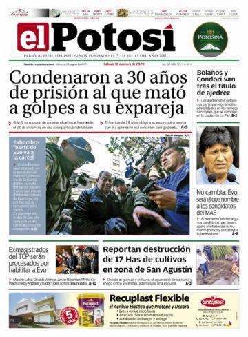 El encarcelamiento de Romero copa las portadas sabatinas