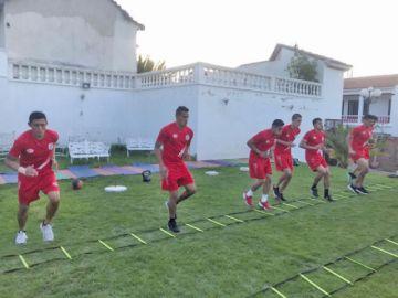 Nacional entra en la recta final de su preparación para recibir a Wilstermann