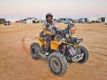 """El """"Rally"""" culminó con solo un competidor boliviano"""