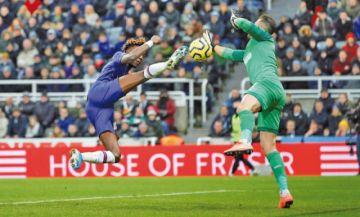 El Newcastle amarga al Chelsea en el último minuto