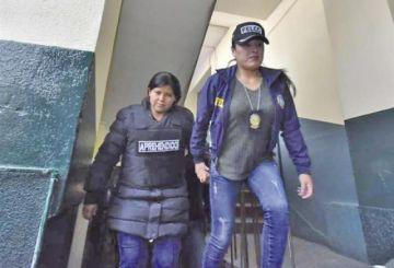Envían a Elba Terán  a la cárcel de Palmasola