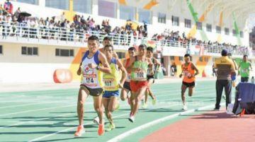 Santa Cruz ganó el torneo nacional de atletismo