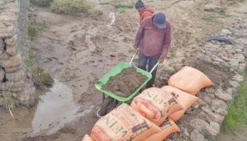 Granizo y lluvias destruyen la producción agrícola en Potosí