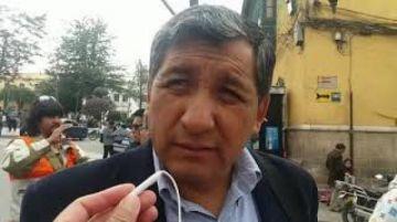Se leerá la carta de renuncia de Marco Pumari