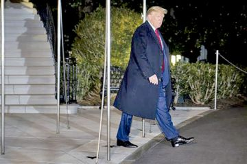 Empieza el histórico juicio contra presidente de EEUU