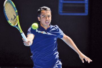 Hugo Dellien cae dando batalla frente a Rafael Nadal