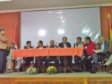 Informaron las demandas de Potosí al Ministerio de Salud