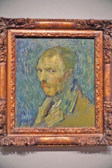 """El """"selfie"""" que se hizo Van Gogh en plena psicosis es una pieza auténtica"""
