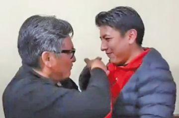 Marco Pumari se va de Comcipo buscando ser vicepresidente de Bolivia