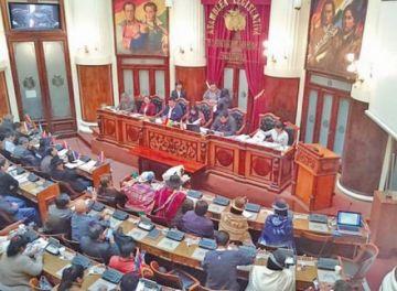MAS llama a sesión de ALP para leer la renuncia de Evo