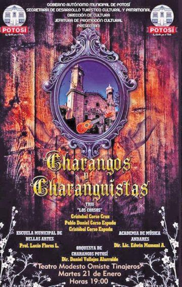 Varios charanguistas se presentan en festival esta noche