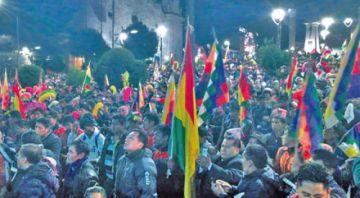 Anuncian marcha campesina por el Estado Plurinacional de Bolivia