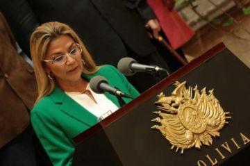 Presidenta Áñez: la paz, libertad y democracia han llegado para quedarse