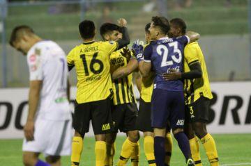 San José fue sorprendido por Guaraní en la Libertadores