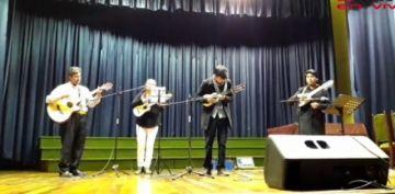 Se realiza el concierto en homenaje a Carlos López