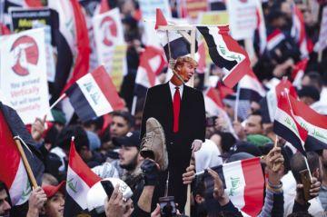 Bagdad: Miles de personas exigen la salida de EEUU