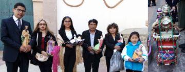 El Ballet Municipal Sentimiento Boliviano adoró al Niño Jesús