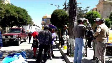 Salubristas levantan piquete de huelga de hambre
