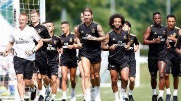 Ramos vuelve a los entrenamientos en Real y Bale no pisa el césped