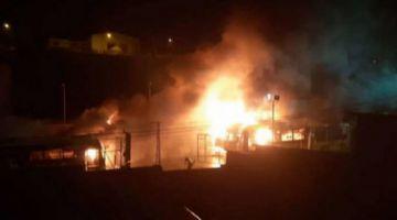 Implicados en la quema de la casa de Albarracín son enviados a la cárcel