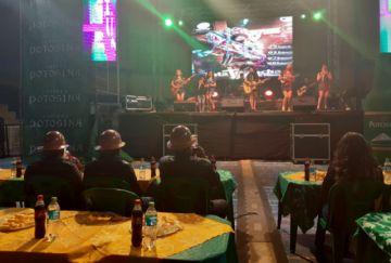 Carnaval Minero  arrancó anoche con fiesta y baile
