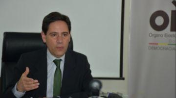 """Romero: """"Estamos llevando un proceso electoral políticamente imparcial"""""""