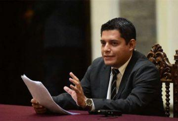 Coimbra solicitará informe  sobre la transmisión  del mensaje presidencial