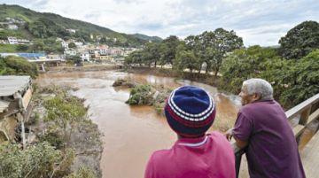 Las inundaciones en Brasil dejan al menos 50 muertos