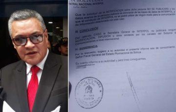 León revela que Interpol rechazó activar notificaciones contra Evo